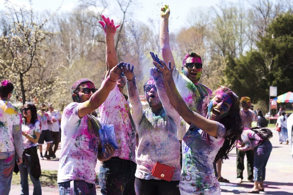 Check Out the Amazing Explosion of Color That is Holi DC
