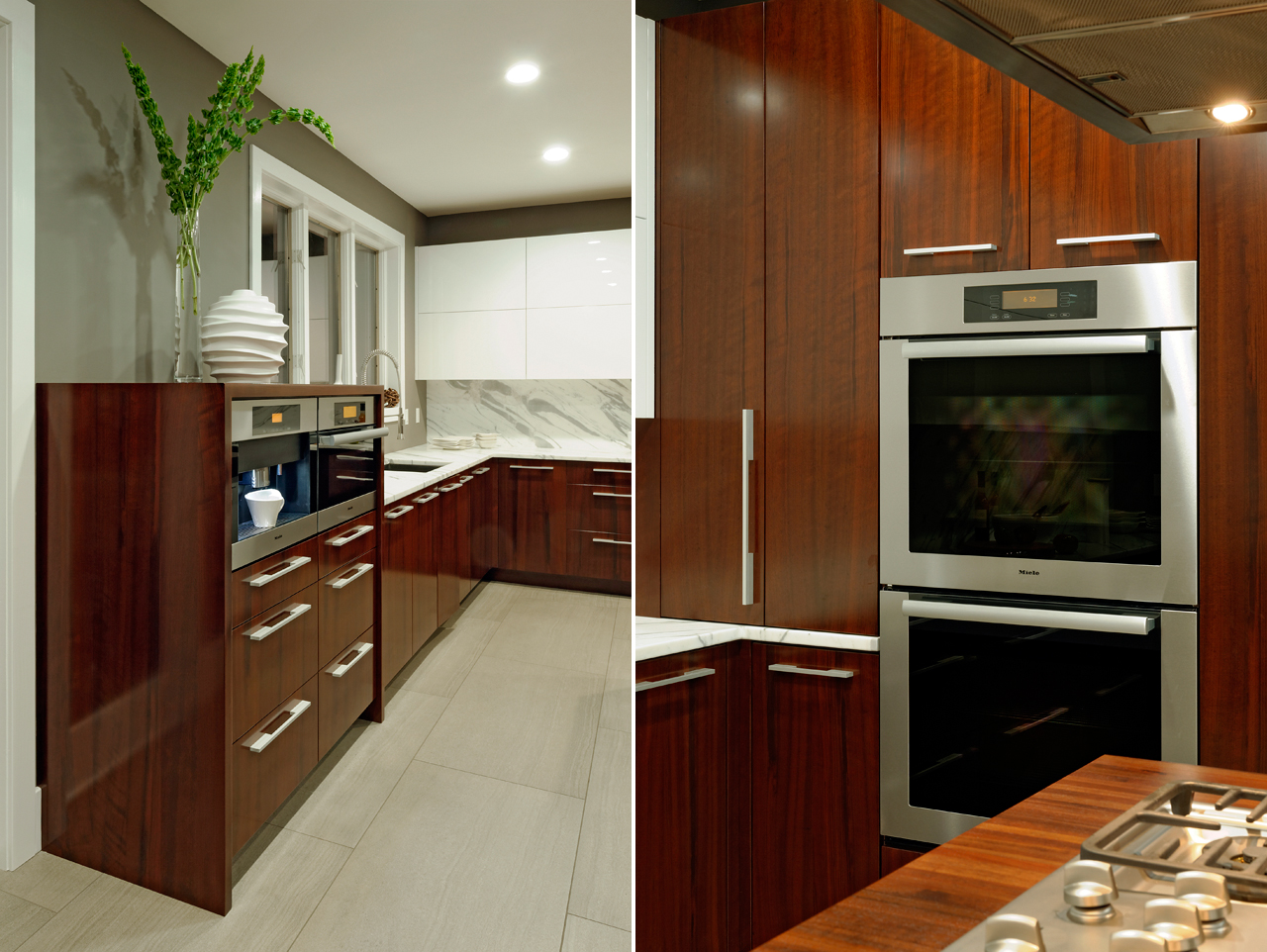 Before & After: A Basic Kitchen Gets a Warm Modern ...