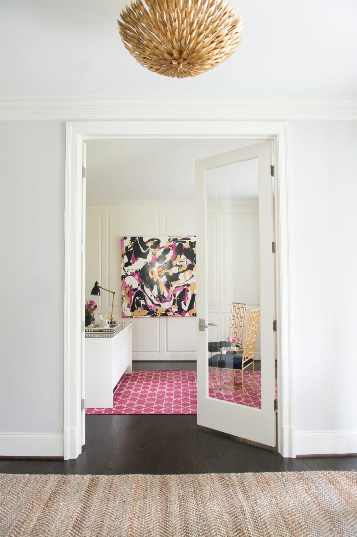 Peek Inside This Glamorous Home Office