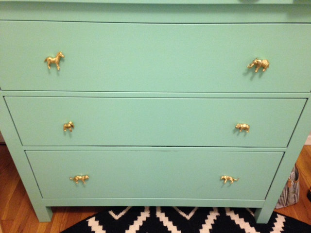 DIY to Do: Transform a Plain Dresser into a Colorful Nursery Piece