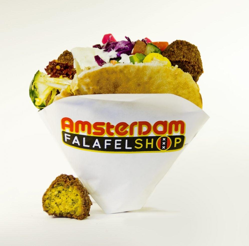 "Check Out Amsterdam Falafelshop's Marijuana ""Pairing Menu"""