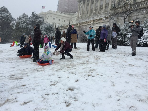 Capitol Hill Sledding Ban Set to Fall