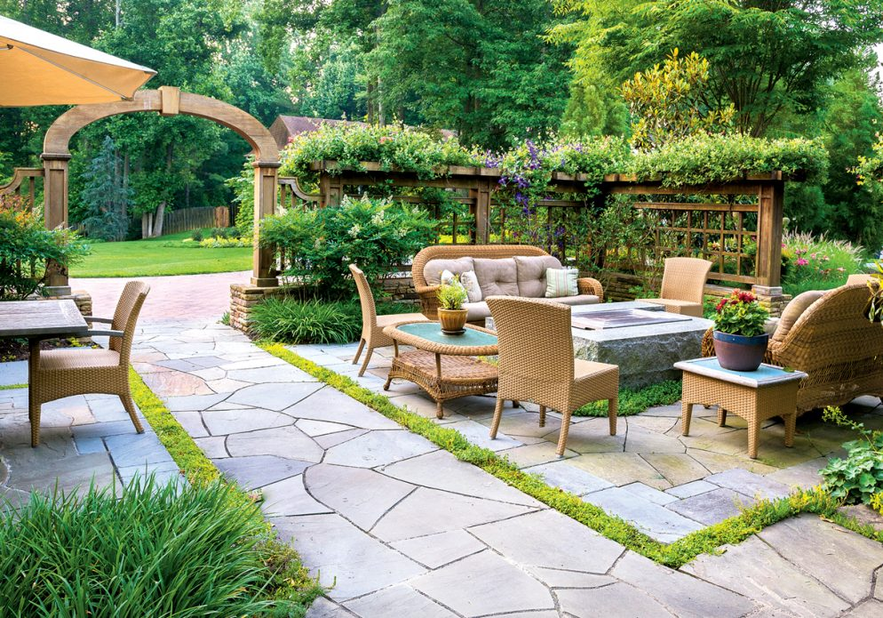 This Grand Bethesda Garden Includes Homegrown Corn and Blueberries