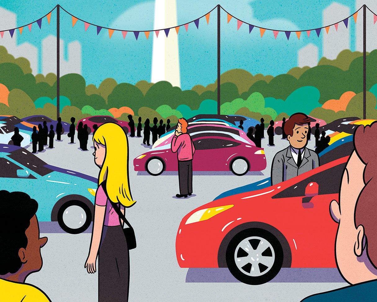 What Kinds Of Cars Do People In Washington Drive Washingtonian Dc