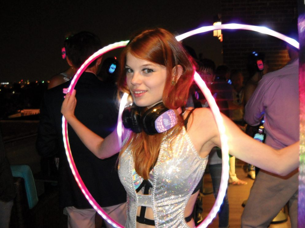 """The """"Silent Disco"""" Is a Rooftop Party That Won't Disturb Any Neighbors"""