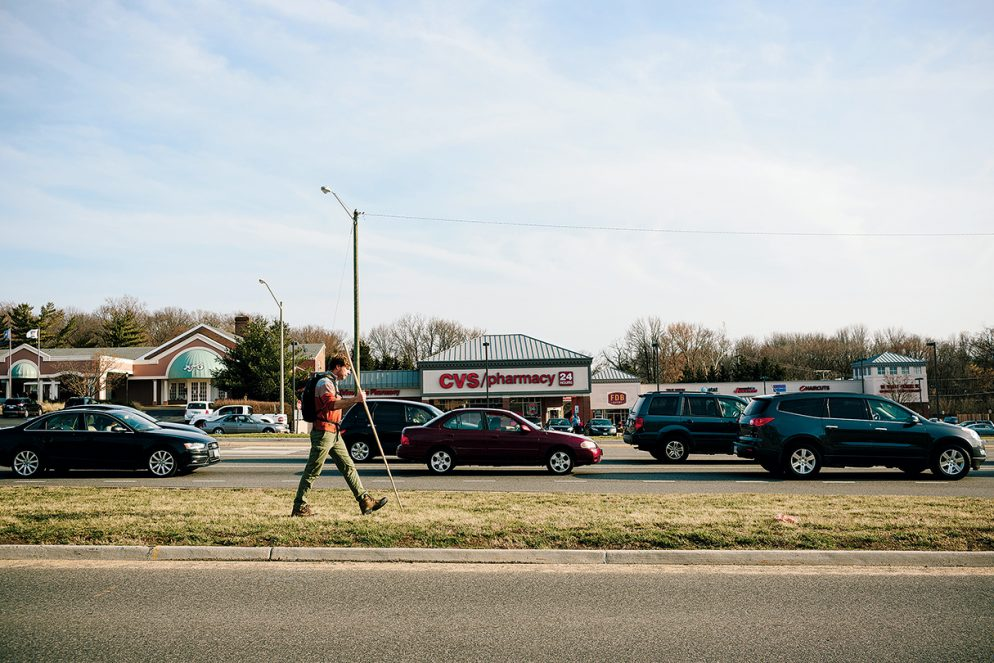 What I Learned Walking 14 Miles of Highway Through Suburban Sprawl