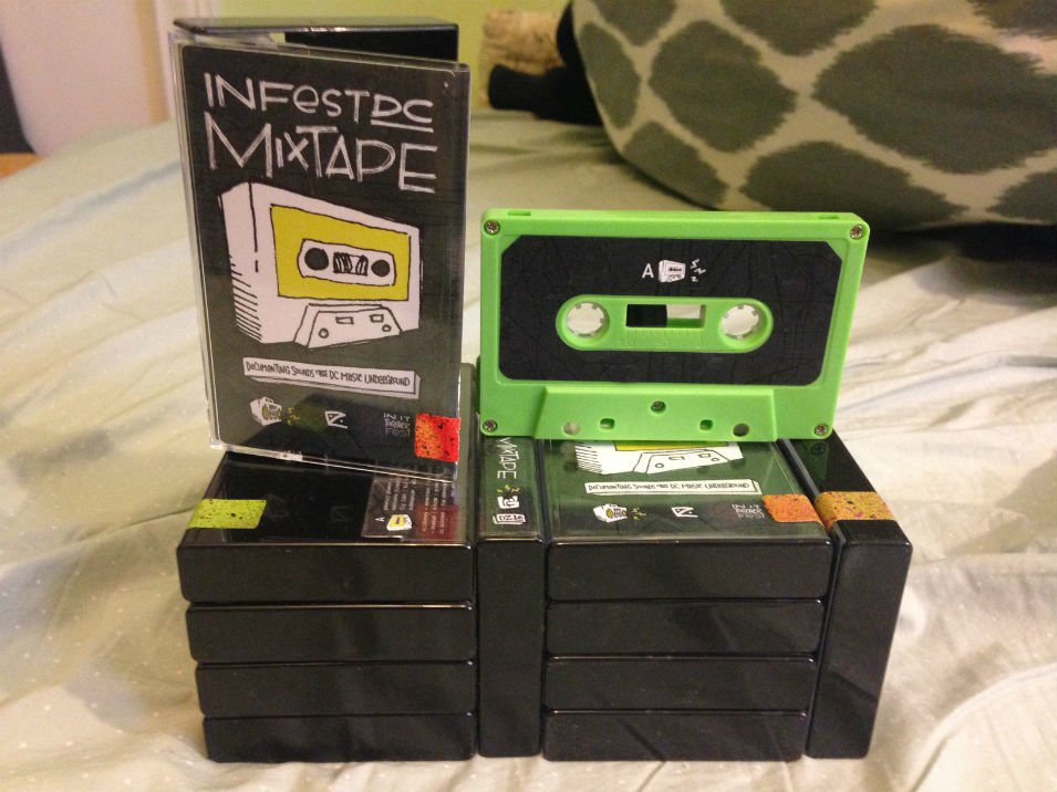 Cassette Tapes Have Made a Comeback in DC