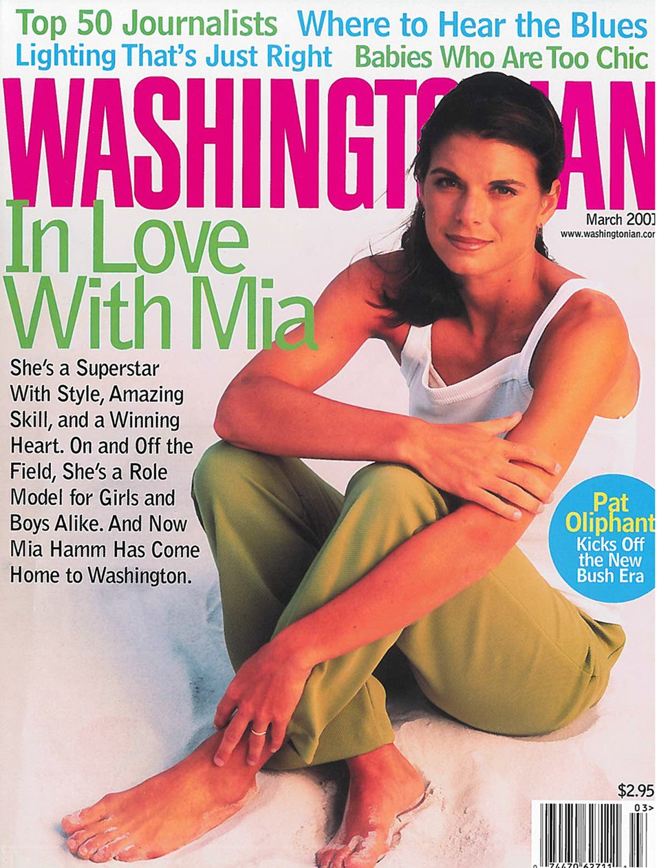 Remembering Mia Hamm's Time in Washington