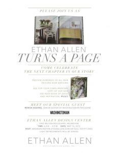 View Ethan Allen's Newest Designs on Thursday