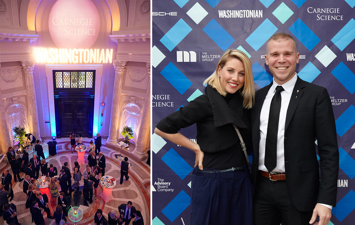 See Photos From <em>Washingtonian's</em> 2015 Tech Titans Celebration at the Carnegie Institution for Science