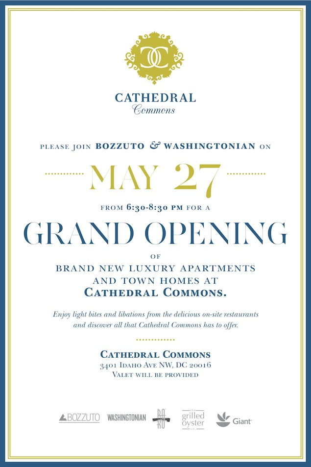 Attend an Opening for Bozzuto's New Luxury Apartments