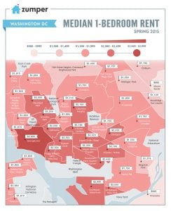 Rents in Washington Increased By 5 Percent This Spring