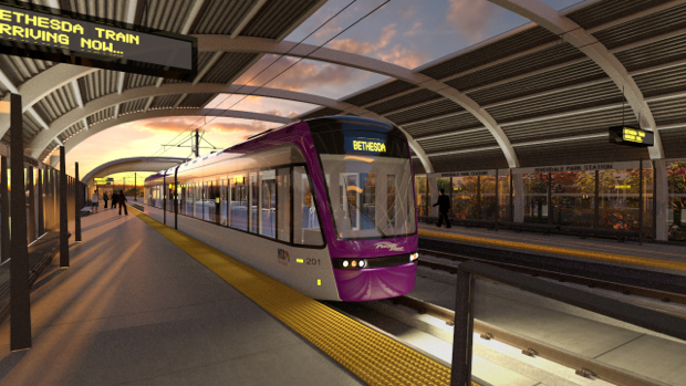 The Purple Line Will Happen, But It'll Cost the Suburbs More