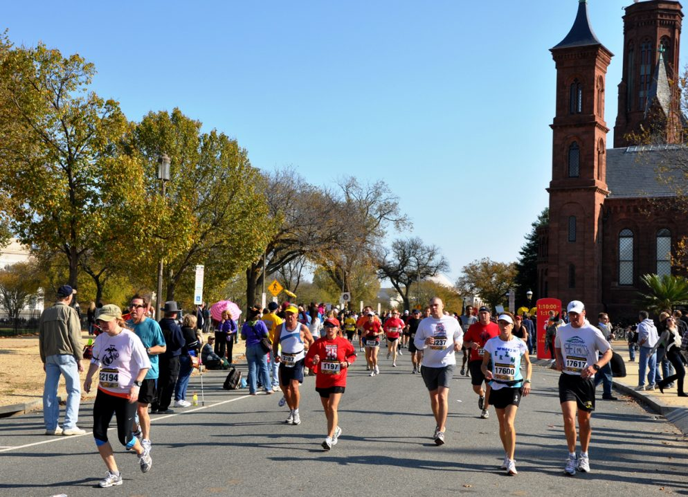 You Can Still Run the Marine Corps Marathon If You Volunteer
