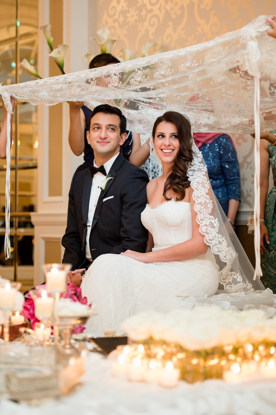Persian Wedding At The Fairmont Hotel