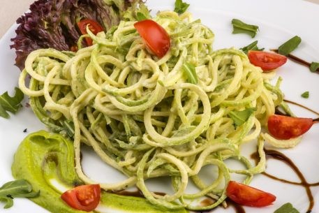 Healthy and Easy Weeknight Recipe: Spiralized Zucchini Three Ways