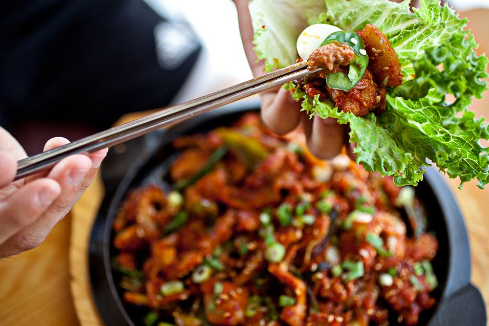 DC Staycation: Enjoy Gom Ba Woo's authentic Korean food. Photograph by Scott Suchman.
