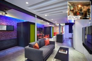 Before & After: See Inside This Basement-Turned-Bachelor-Pad