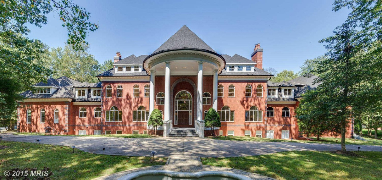 This .3 Million Mansion Has 8 Fireplaces and Two Pools
