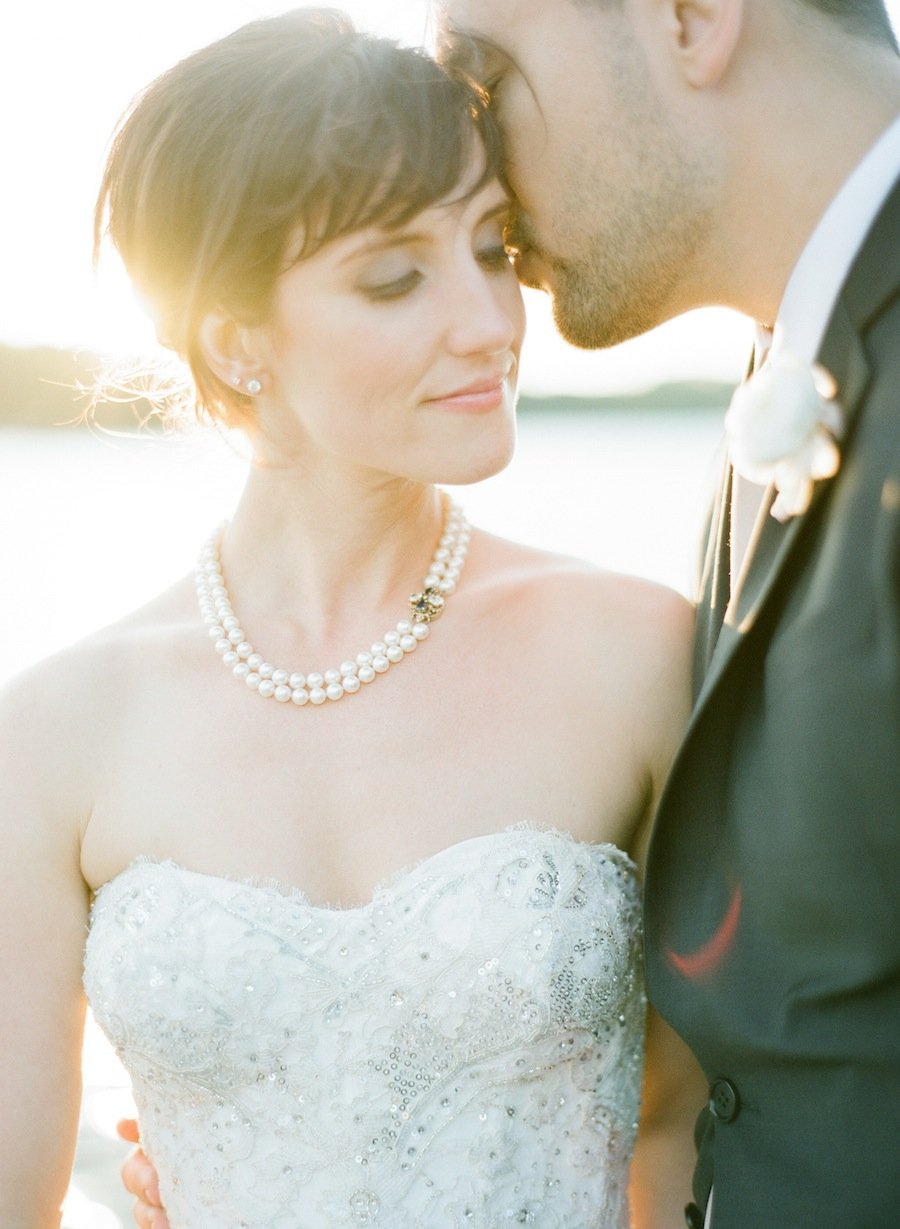 elegant backyard wedding on the annapolis waterfront washingtonian