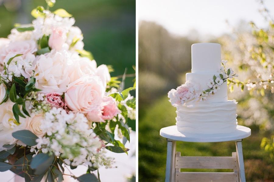 Cunningham Photo Artist Pink Wedding Cake
