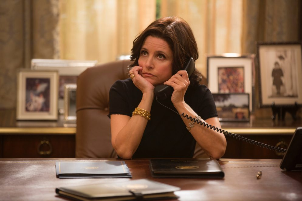 Julia Louis-Dreyfus Visits the <em>Washington Post</em>