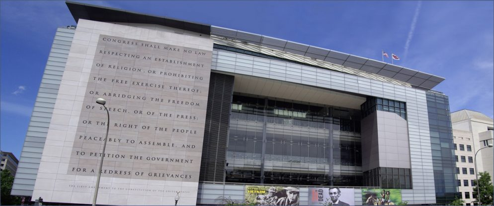 "No, the Newseum Didn't Actually Buy the Ad for ""Worst Museum in Washington, DC"""