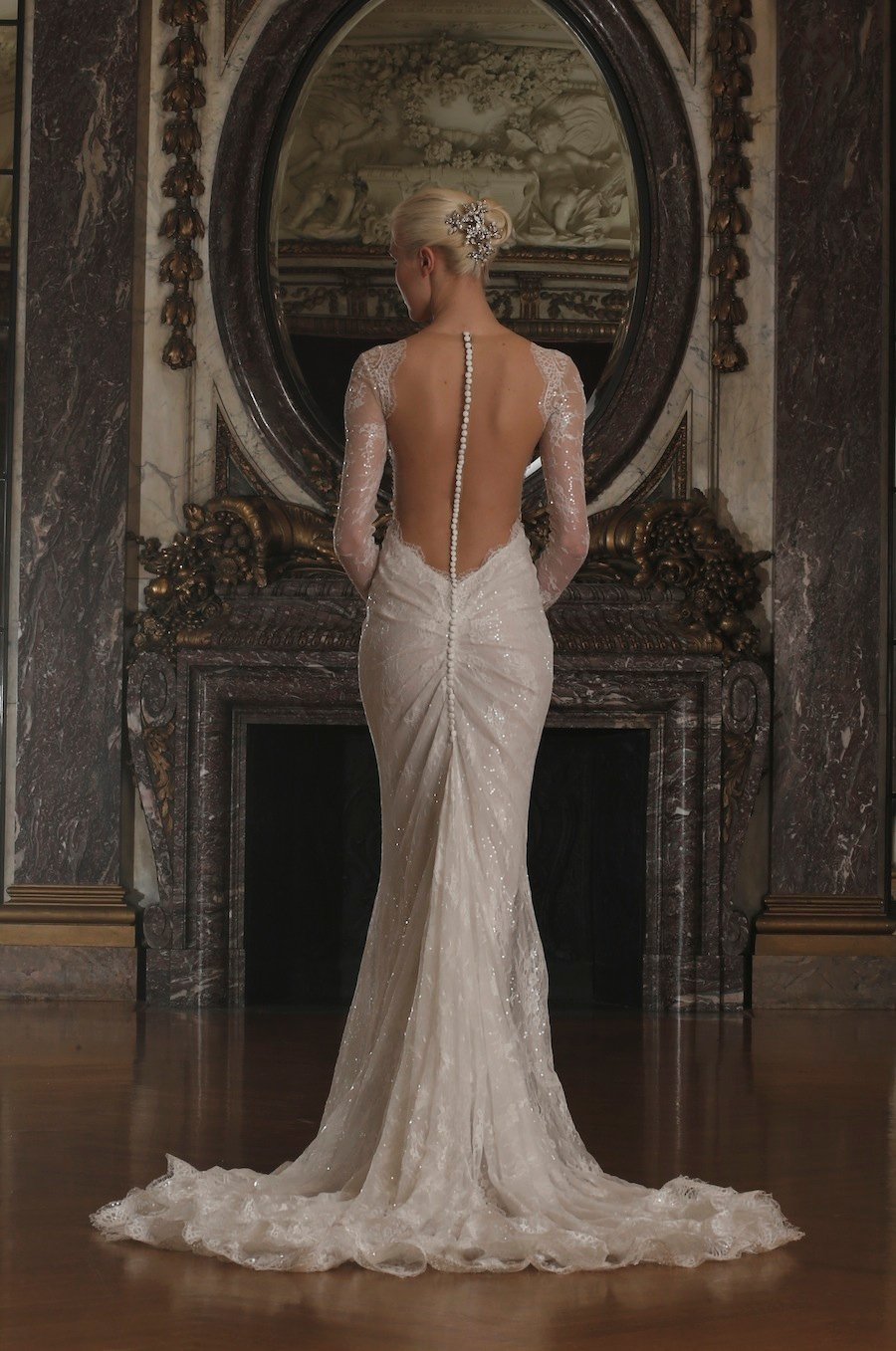 Watch Galia Lahav 2015 Wedding Dresses: Pearl Perfection, Sexy Sparkle and All That Jazz video