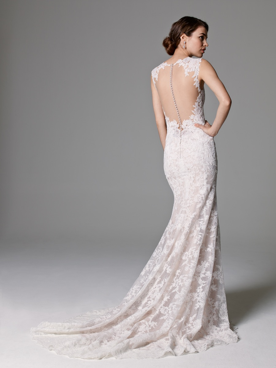 All Lace Mermaid Wedding Dress