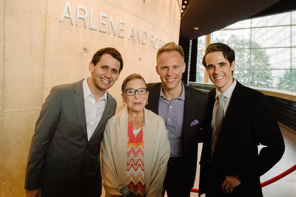 Ruth Bader Ginsburg Attends Arena Stage, Is a Total Baller