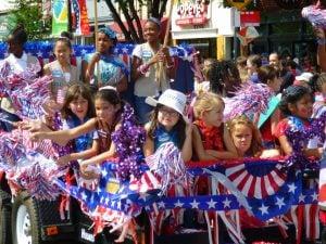 Fourth of July Parades Around Washington
