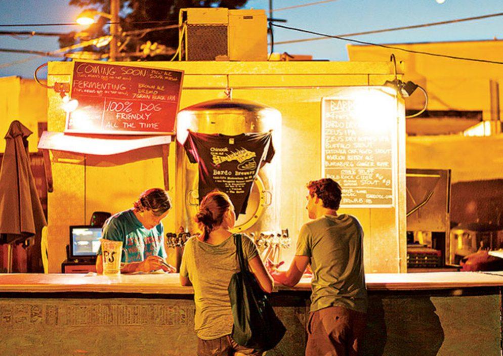 The Summer Drinking Showdown: Biergarten Haus vs. BardoBrewpub
