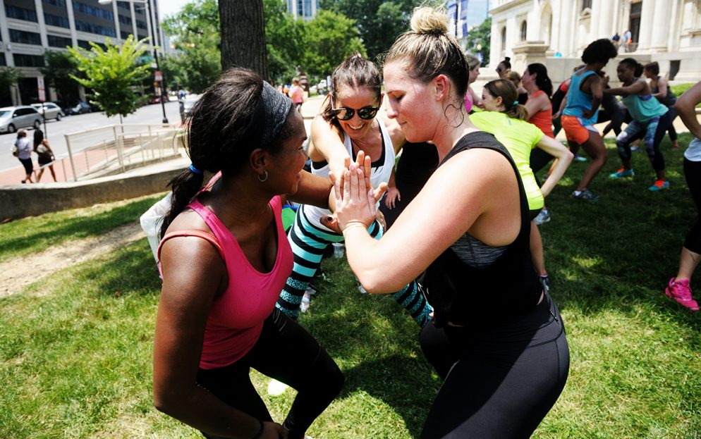 Barre, Yoga, and Bootcamps: Photos From <em>Washingtonian's</em> Fit Fest