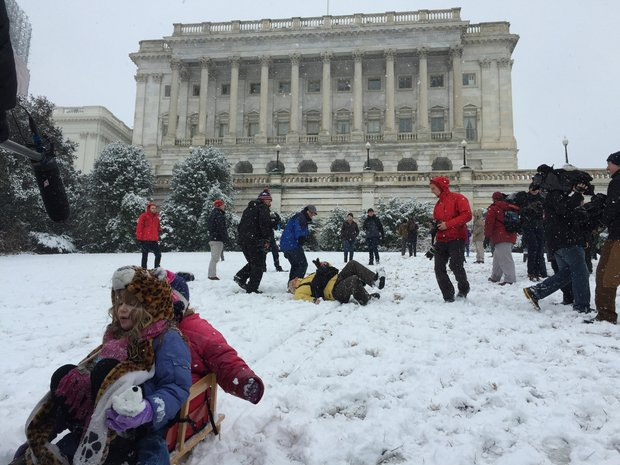 The Capitol Hill Sledders Are DC's Most Successful Protesters in Decades