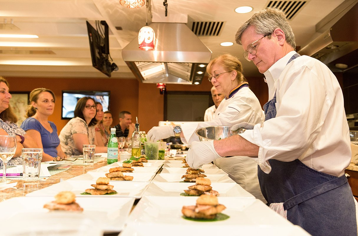 Cooking class in DC: Culinaria teachers