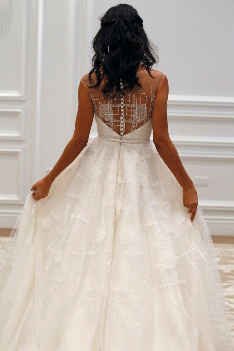 Kenneth Pool Wedding Dress 81 Beautiful  Playful plaid patterns