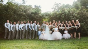 Rustic Pink and Gray Barn Wedding at Virginia's Murray Hill