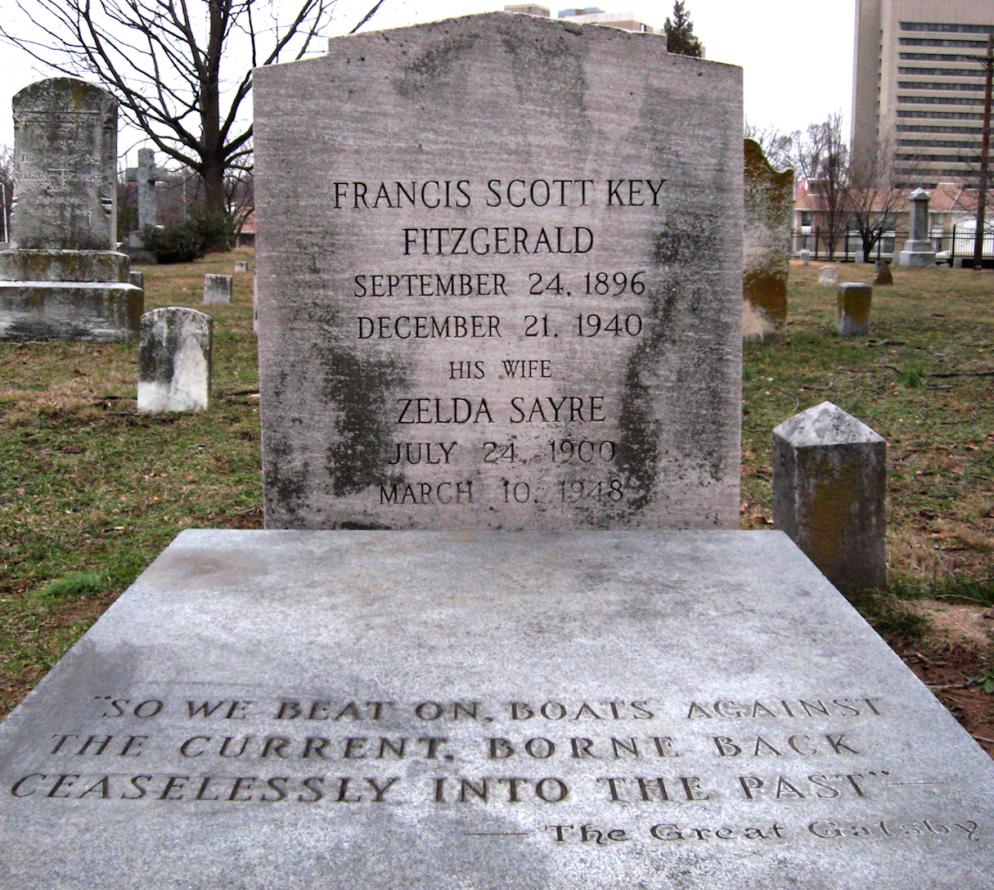 How F. Scott Fitzgerald Found Eternal Peace in Rockville