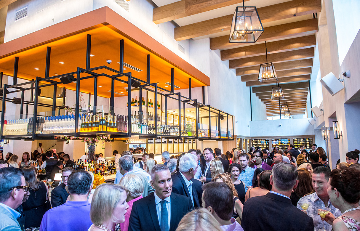 Photos: Inside Fig & Olive, CityCenterDC's New Restaurant, at Their Opening Celebration