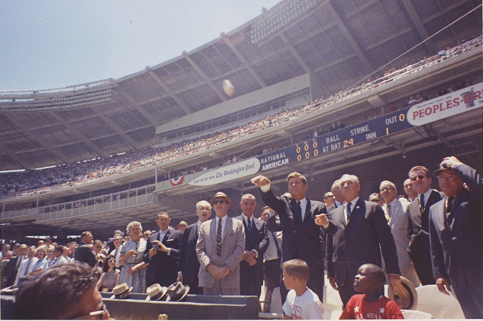 When Baseball's All-Star Games Were Played in DC
