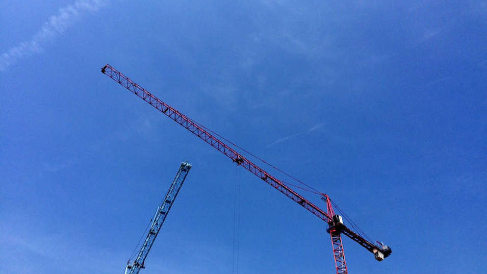 Two Construction Cranes Will Be Choreographed to Music for the Capital Fringe Festival
