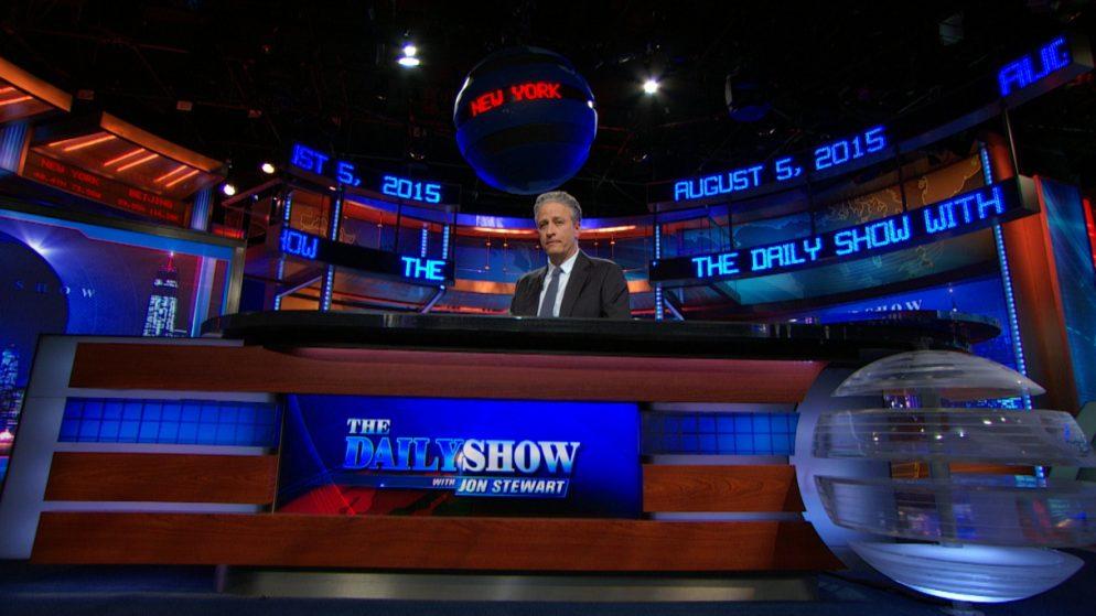Jon Stewart's <em>Daily Show</em> Set to Be Donated to the Newseum