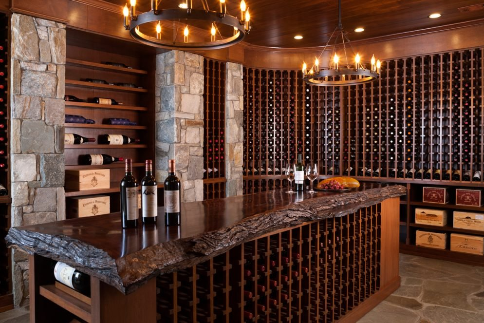 Inside A Basement Wine Cellar That Can Stash Over 4 000