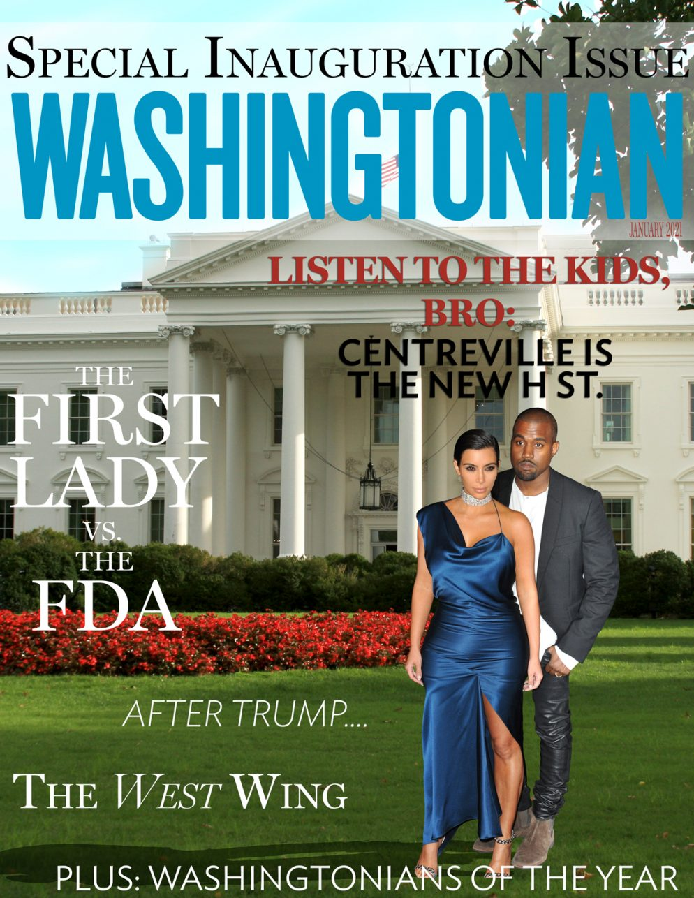 Our January 2021 Cover: Welcome, President Kanye West