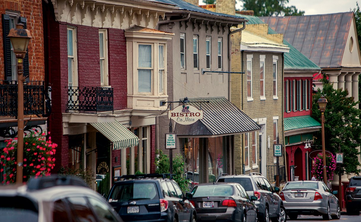 Great Small Towns Near Washington, DC