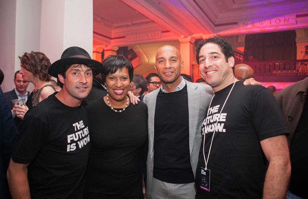 Adrian Fenty Is Hanging Out in DC Again