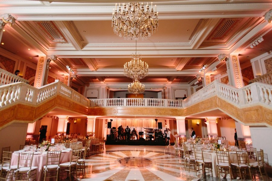 Glam Black Tie Wedding At The National Museum Of Women In