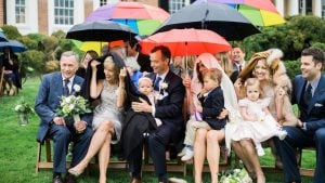 This Outdoor Ceremony at Woodlawn is Proof a Little Rain Won't Ruin Your Wedding Day