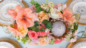 Bright and Tropical Styled Shoot at Worsell Manor