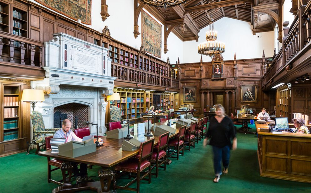 Photos: Inside the Folger Library's Beautiful Reading Room